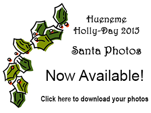Hueneme Holly-Day 2015 photos with Santa now available!