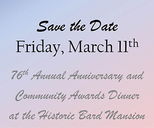 Save the Date Friday March 11th, 76th Annual Community Awards Dinner